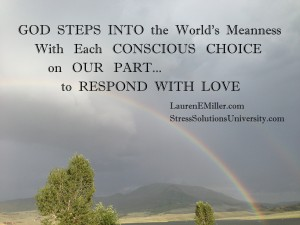 God Steps Into the World